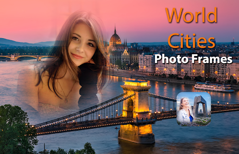 World Cities Photo Frames - náhled