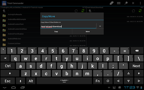 USB plugin for Total Commander screenshot