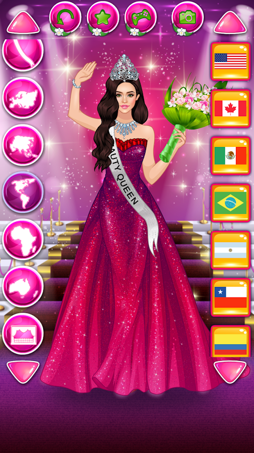 Beauty Queen Dress Up - Star Girl Fashion- screenshot