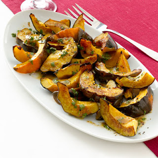 Roasted Acorn Squash with Cider Vinaigrette