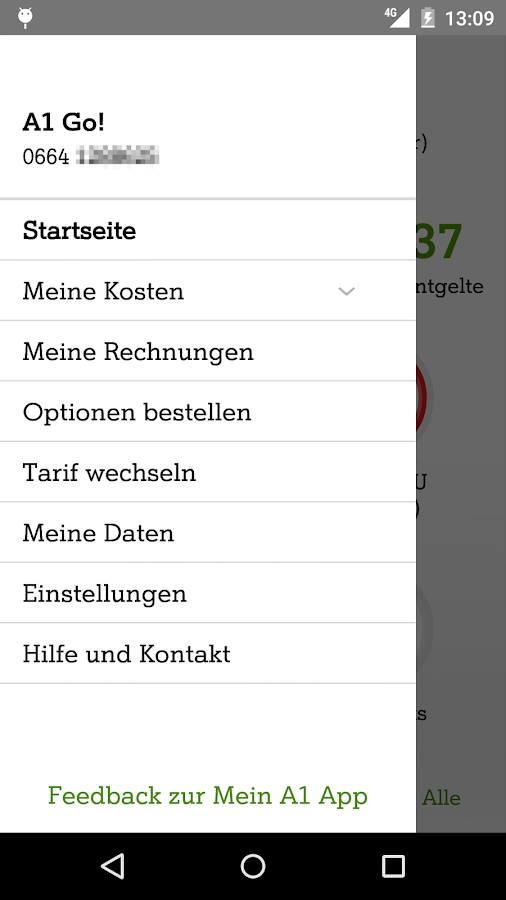 Mein A1- screenshot