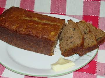 """Pam's """"THAT'S JUST PEACHY"""" BANANA BREAD"""