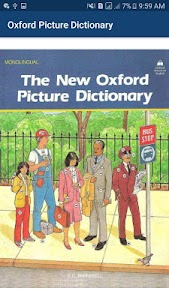 Oxford Picture Dictionary offline book app 2020 1.20