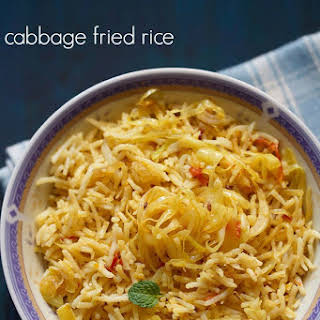 Cabbage Fried Rice.
