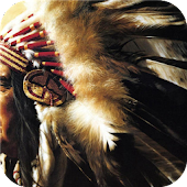 American Indians. Wallpaper