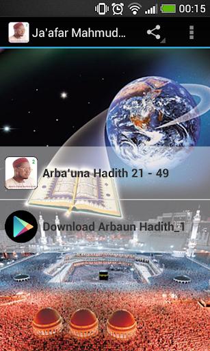 Ja'afar Mahmud Arbaun_Hadith_2