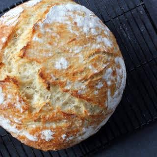 Basic No-Knead Bread.