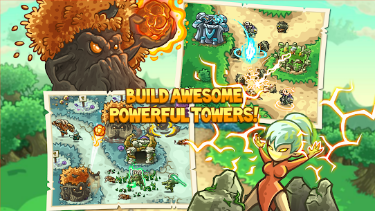 Kingdom Rush Origins MOD APk (Unlimited Gems/Unlocked Heros) 2
