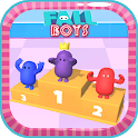 Ultimate knockout Fall Run Race 3D icon