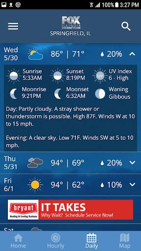 Fox Illinois Weather App 4.6.1400 screenshots 5