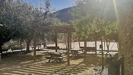 Imagen de un espacio de ocio situado en el municipio de Laroya.