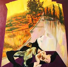 Photo: Carretera. óleo sobre tela .140x140 cms.año 2011.$ 980.000- neto. http://vivaelarte-cabusrri.blogspot.com/p/edgar-del-canto.html