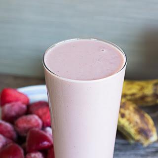 Strawberry Banana Cream Smoothie