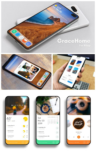 GraceHome for KLWP screenshot 3