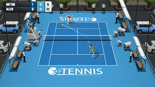 Pocket Tennis League MOD (Unlimited Gold Coins) 2