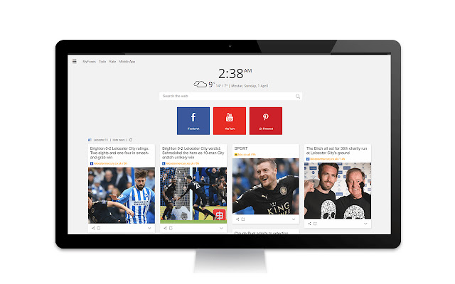 Leicester FC News Tab