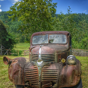 Old truck by Debra Graham - Transportation Other ( old truck,  )