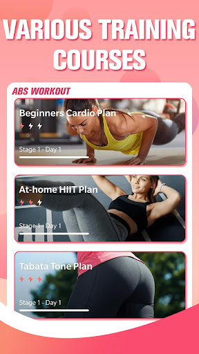 Abs Workout - Home Workout, Tabata, HIIT screenshot 1