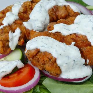 1. Fried Chicken Salad