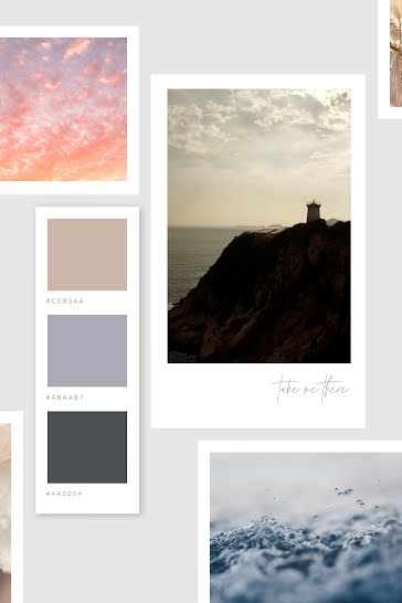 Lighthouse Sky Water - Video template