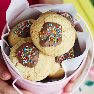 Thumbprint Cookies.