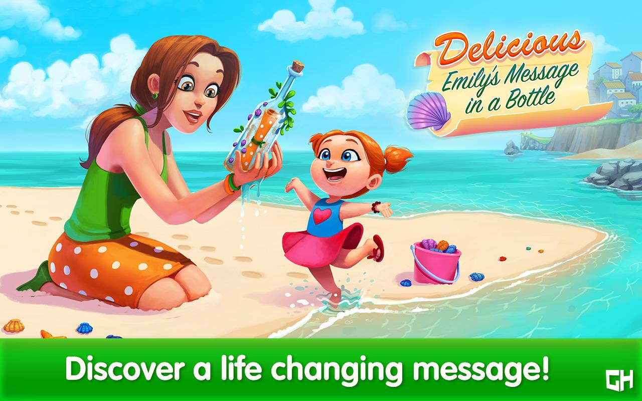 Delicious - Emily's Message in a Bottle- screenshot