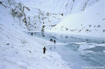 Photo: des avalanches partout