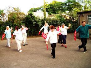 Photo: Longhope Fan Class July  08 at Blaisdon Village Hall