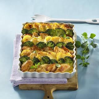 Chicken, Potato and Broccoli Casserole.