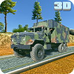 Army Truck Checkpost Drive 3D Icon