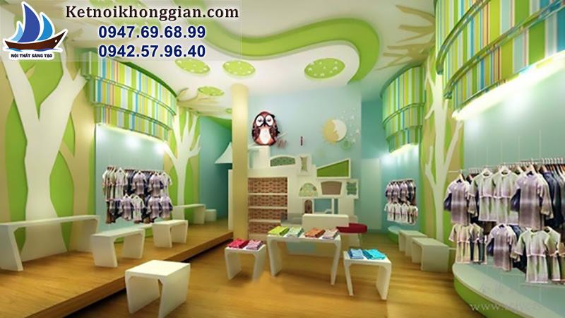 thiết kế cửa hàng cuốn hút khách hàng
