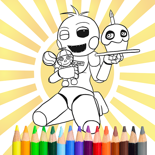 Five Nights Coloring Book