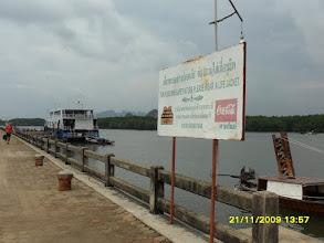 Photo: Am Chao Fa Pier an der Khong Kha Road  -  Krabi