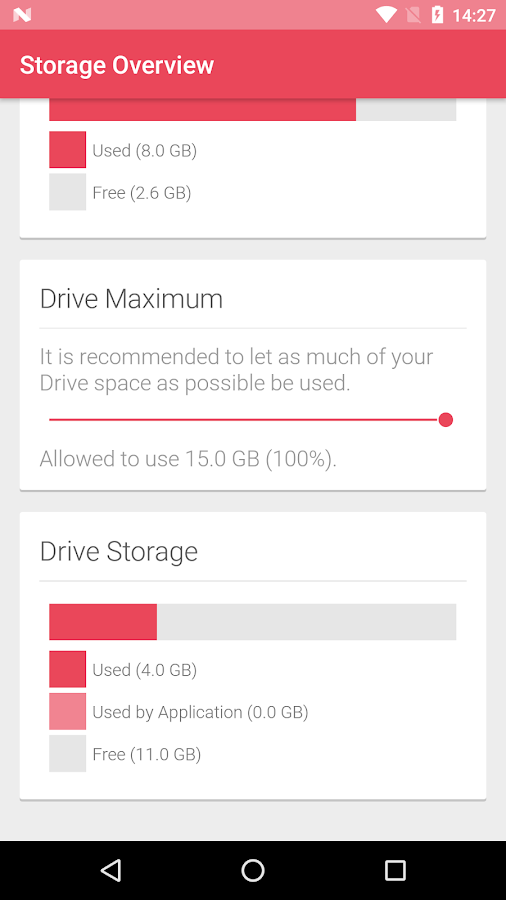 Smart Cloud Storage Screenshot