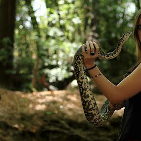 Snakes by Thean Jonck - People Fine Art