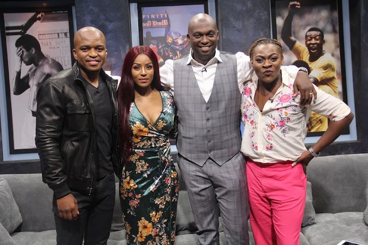 Naked DJ, Jessica Nkosi, T-Bose and Khaya Dladla.