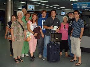 Photo: Ahi estaban nuestras familia cercana en el aeropuerto