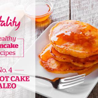 Carrot Cake Paleo Pancakes Recipe