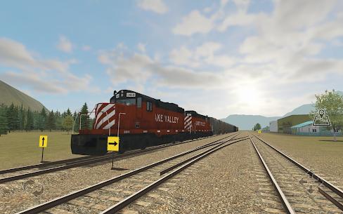 Train and rail yard simulator 6