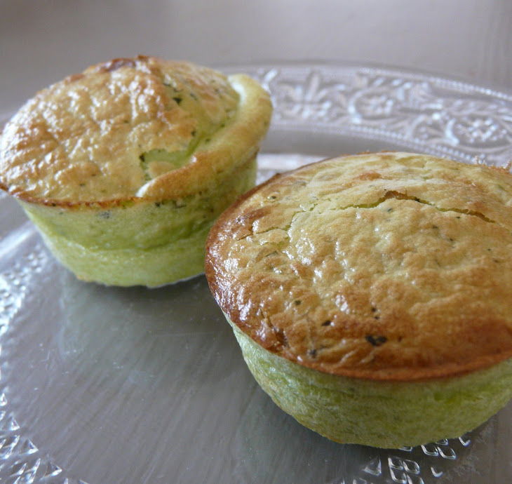 Peas and Ricotta Moelleux Recipe