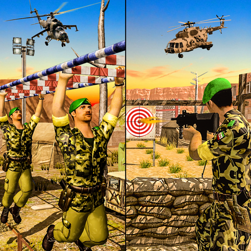US Army Training Special Force: Army Shooting Game