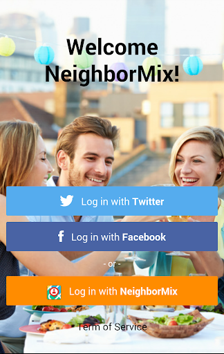 NeighborMix communication app