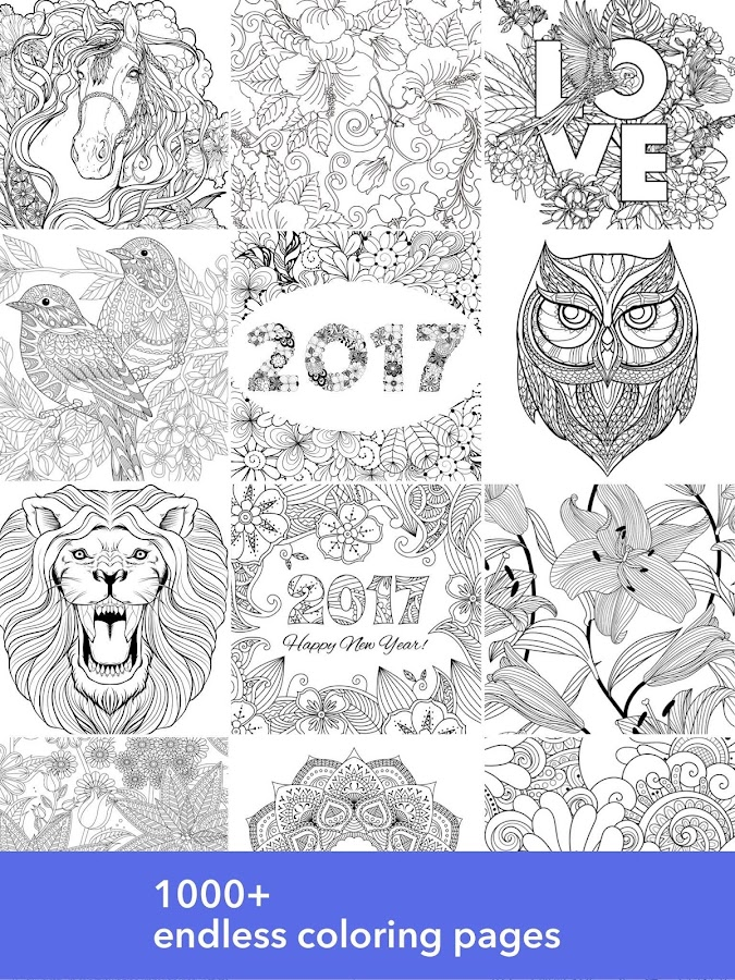 InColor  Coloring Book  Android Apps on Google Play