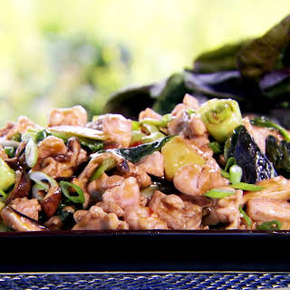 Oyster Sauce Chicken with Bak Choy.