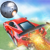 Rocket Car Crash Soccer Ball Stadium Football Game