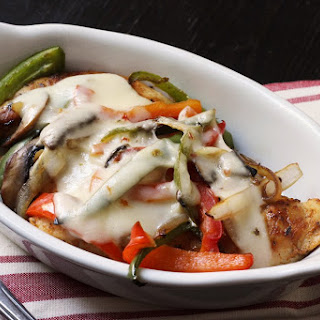Cheesy Chicken & Peppers.