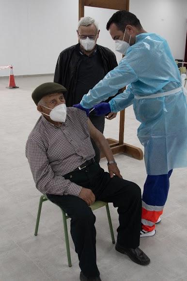 El sábado 20 de febrero comenzó la vacunación en Albox.