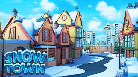 Snow Town - Ice Village World Winter Age APK screenshot thumbnail 1