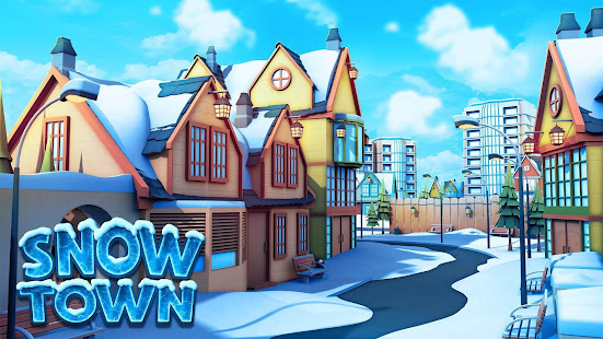 Snow Town – Ice Village World: Winter City 1