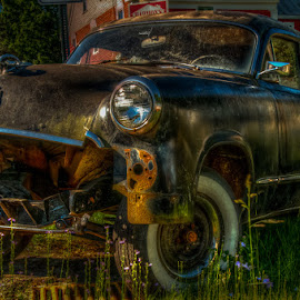 by Chris Cavallo - Transportation Automobiles ( automobile, rust, car, old, rusty, decay, abandoned )